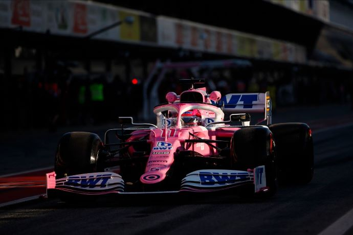 Test F1 2020: Dia 1 - Racing Point y Checo inician pretemporada con autoridad en el Top 3