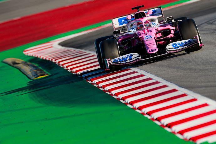 Test F1 2020: Dia 2 - Racing Point logra el mejor registro en 1ª sesión de prácticas y P2 en la 2ª