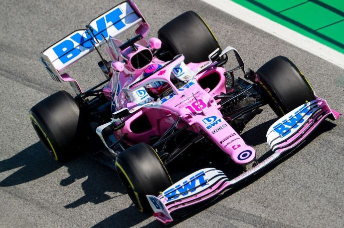 Test F1 2020: Dia 3 - Racing Point termina 1ª etapa de ensayos productiva y aun color de rosa
