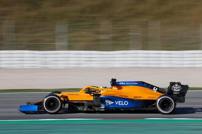 Test F1 2020: Día 2 – McLaren, a paso firme