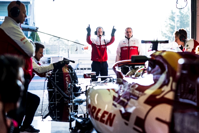Test F1 2020: Día 2 - Alfa Romeo busca el potencial