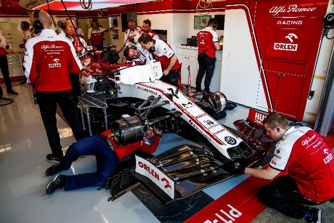 Test F1 2020: Día 4 - Alfa Romeo al tope de los tiempos