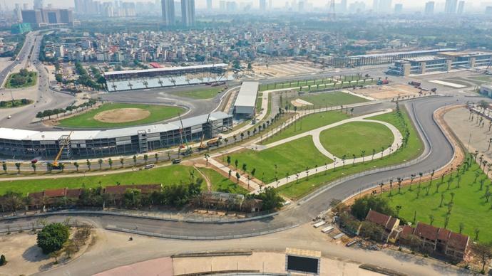 El Circuito de Hanoi está listo para recibir a la Fórmula 1