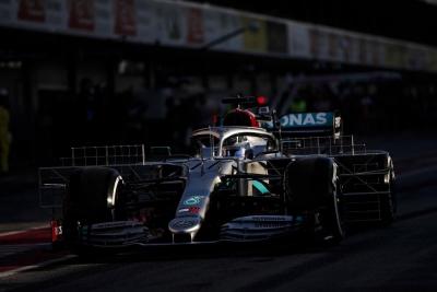 El Mercedes W11, sin transformaciones de Barcelona a Australia