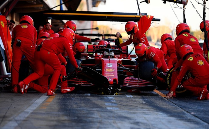 Ferrari consideró adaptar el DAS, pero lo abandonó