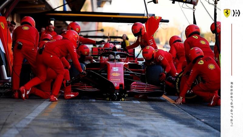 Ferrari muestra tranquilidad ante el problema de fiabilidad de su motor
