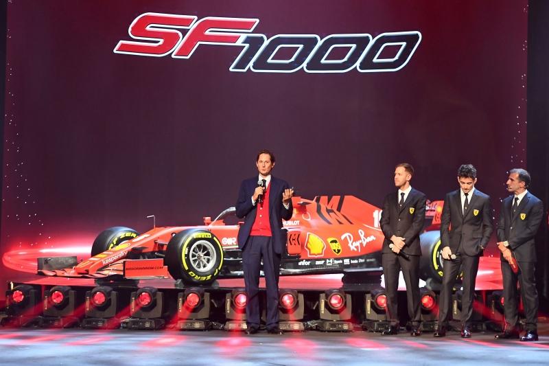Ferrari presentó la SF1000 en Reggio Emilia, su contendiente para luchar por el título este año