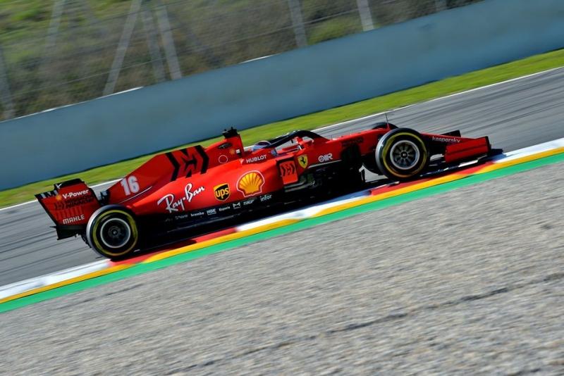 Leclerc afirma que el nuevo Ferrari permite una mayor flexibilidad para ponerlo a punto