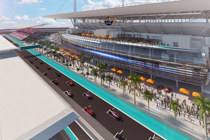 """Liberty Media considera """"complejo"""" el intento de desembarco de la Fórmula 1 en Miami"""