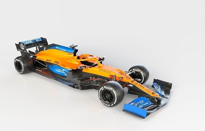 McLaren presenta su nuevo MCL35