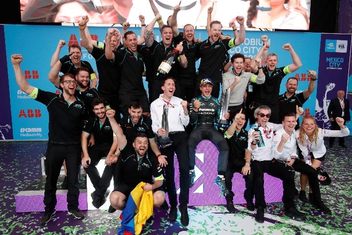 #MexicoEPrix: Evans y el espíritu Jaguar triunfan en tierra azteca