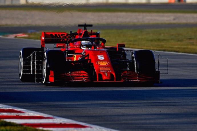 Primeras valoraciones de Vettel sobre el SF1000
