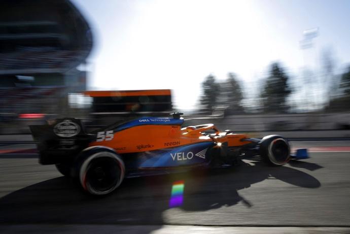 Sainz, contento con el trabajo realizado y a la espera del GP de Australia