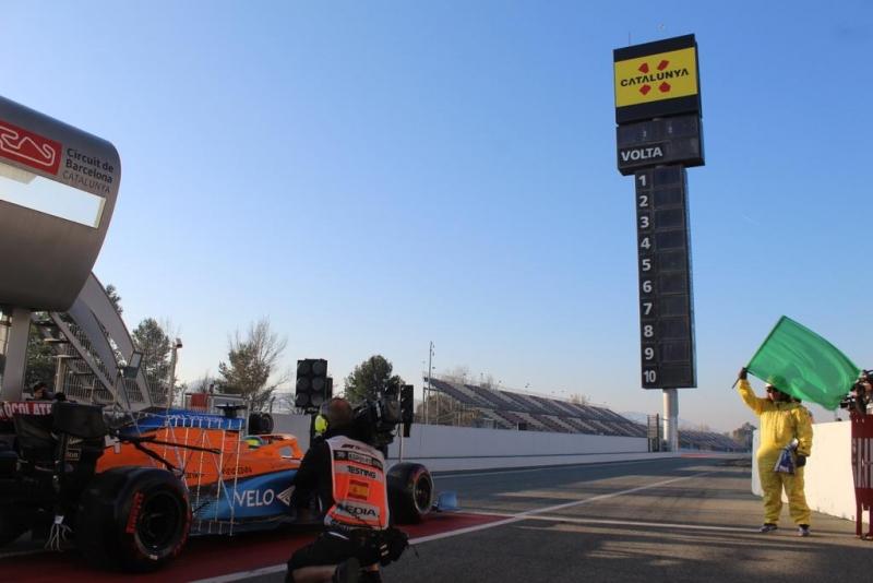 Sigue en DIRECTO el día 2 de la pretemporada de F1 2020