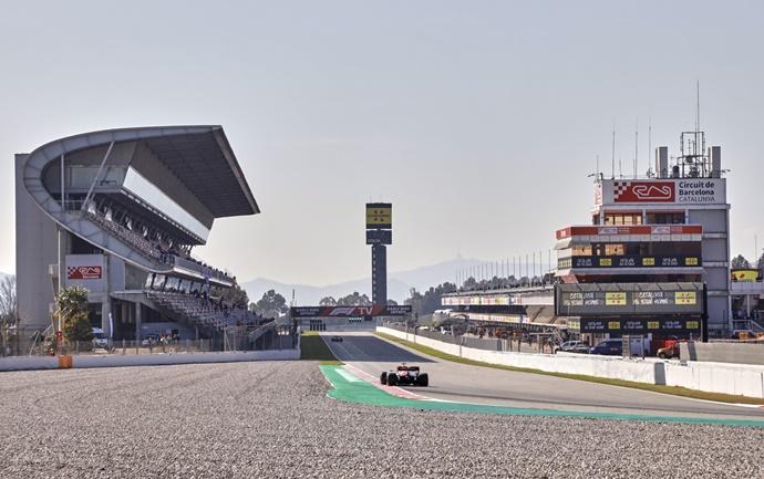 Sigue en DIRECTO el día 4 de la pretemporada de F1 2020