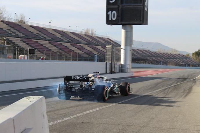 Sigue en DIRECTO el día 5 de la pretemporada de F1 2020