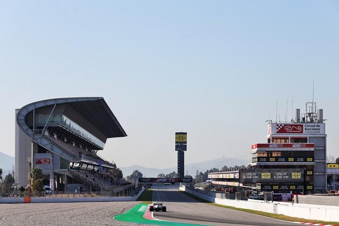 Sigue en DIRECTO el día 6 de la pretemporada de F1 2020
