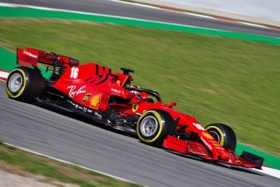Test F1 2020: Día 1 – Ferrari, lejos en el primer día de pretemporada con Leclerc a los mandos