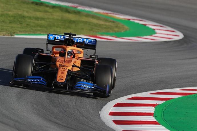 Test F1 2020: Día 1 – McLaren, 161 vueltas sin problemas