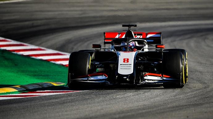 Test F1 2020: Día 2 – Haas supera la marca de las 158 vueltas