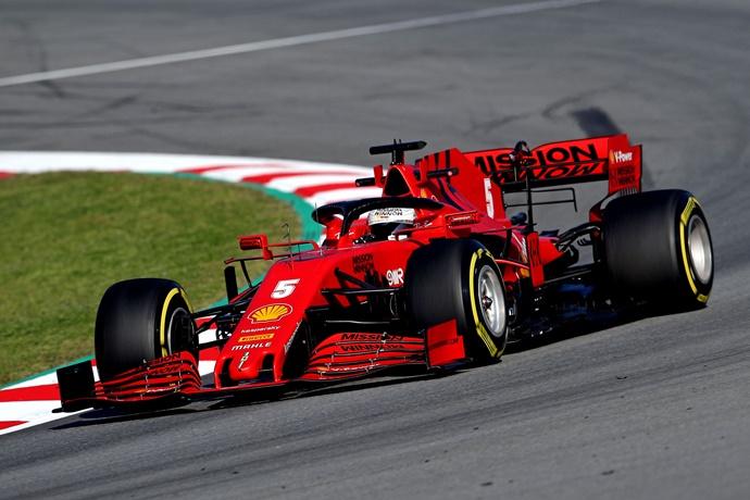 Test F1 2020: Día 3 – Ferrari, una mañana complicada, pero con mucho aprendizaje para la segunda semana