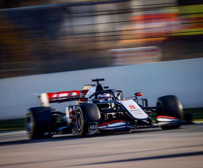 Test F1 2020: Día 3 - Haas, contentos con los datos pese a sus tiempos discretos