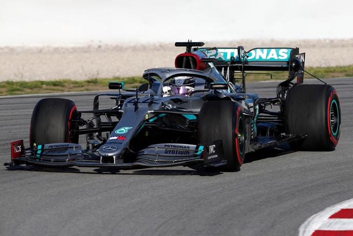 Test F1 2020: Día 4 – Mercedes no hace pruebas de rendimiento, pero sigue dando miedo