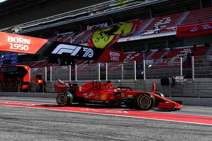 Test F1 2020: Día 5 - Ferrari, fuerte en clasificación y en carrera
