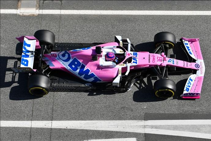 Test F1 2020: Día 5 - Racing Point, cantidad y calidad de vueltas en un día complicado