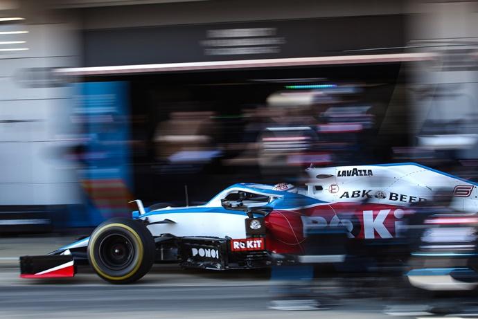 Test F1 2020: Día 5 – Williams y el último día de Latifi dando buenos datos