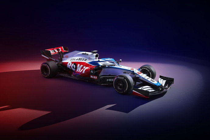 Williams presenta su FW43
