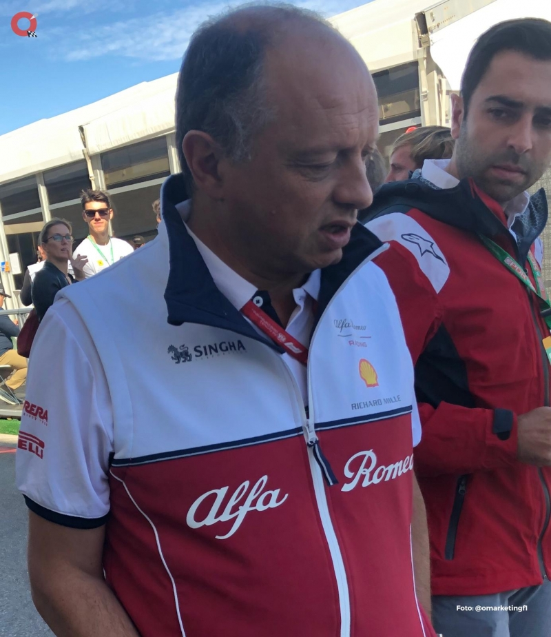 Vasseur resta importancia al inicio de la F1 tras el grave problema del Covid-19