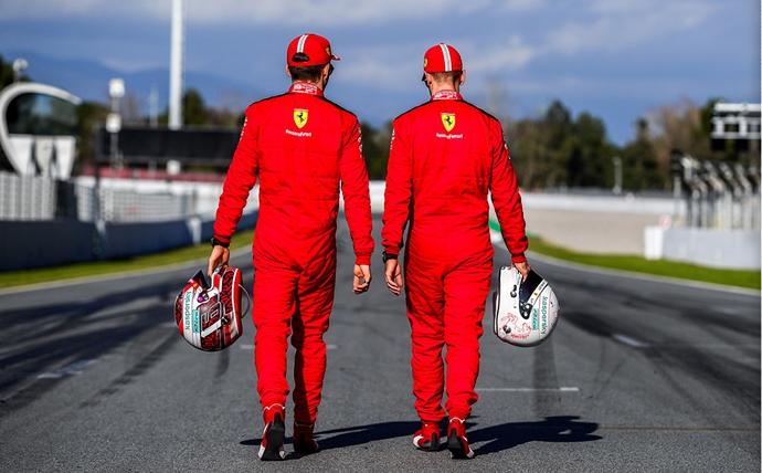 Ferrari y las órdenes de equipo en 2020
