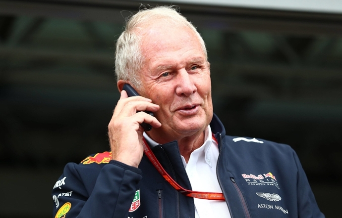 "Helmut Marko: ""Si no se realizan cinco carreras, perdemos un total de 100 millones"""