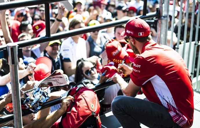 La F1 limita el acercamiento de aficionados y prensa con los pilotos