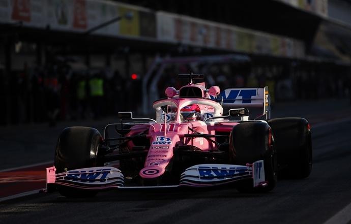 Racing Point descarta el uso del DAS