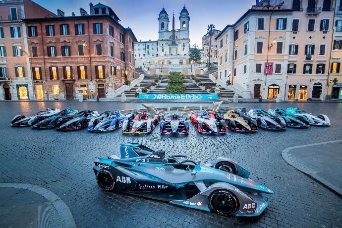 La Fórmula E suspendió el #RomeEPrix