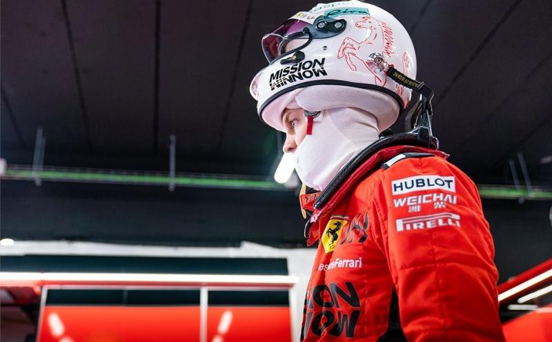 Vettel piensa que Ferrari estará por debajo de Mercedes