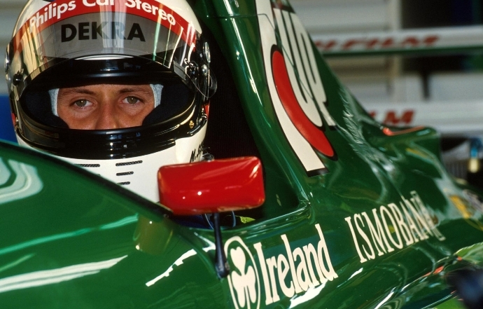 DesGraining el debut de Michael Schumacher en la Fórmula 1