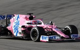 Abiteboul molesto con el Racing Point de 2020