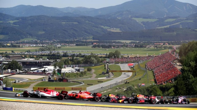 La F1 podría empezar en Austria y tener dos carreras en Silverstone según prensa británica