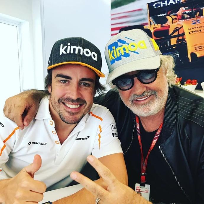 Alonso relata su llegada a la F1 y una de sus mejores anécdotas con Briatore