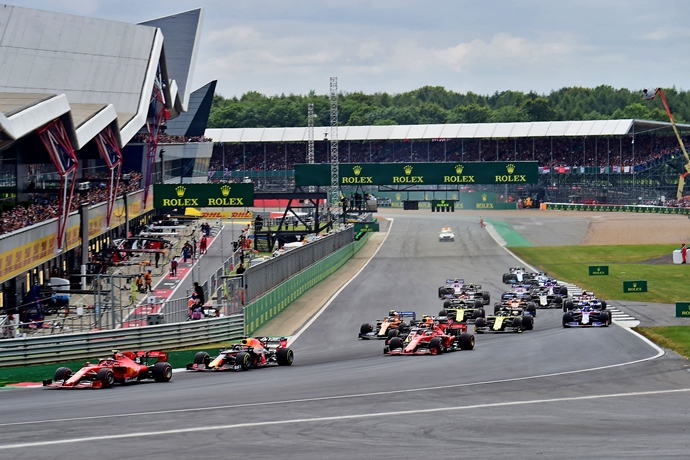 El GP de Gran Bretaña se celebrará a puerta cerrada