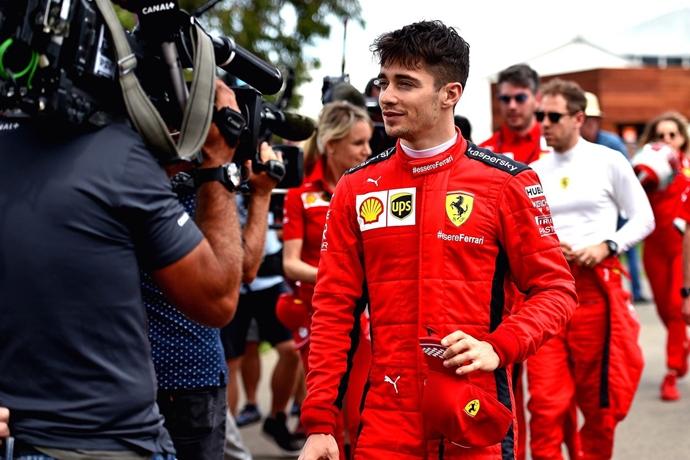 """Leclerc: """"Hamilton sigue siendo el favorito incluso en un Mundial a ocho carreras"""""""