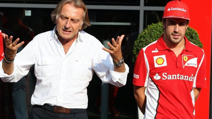 Montezemolo explica por qué ficharon a Alonso en vez de a Vettel
