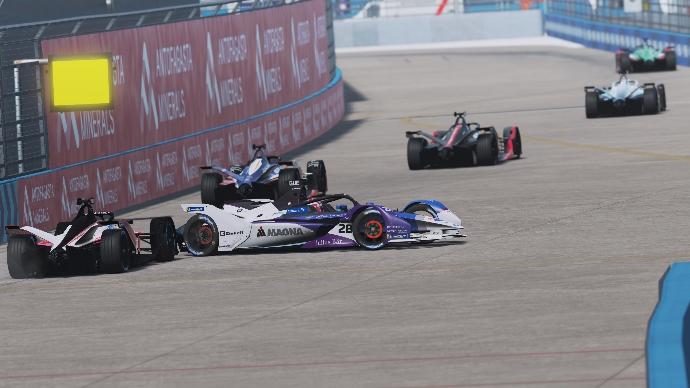 Rowland y su primera victoria en la Formula-E esports