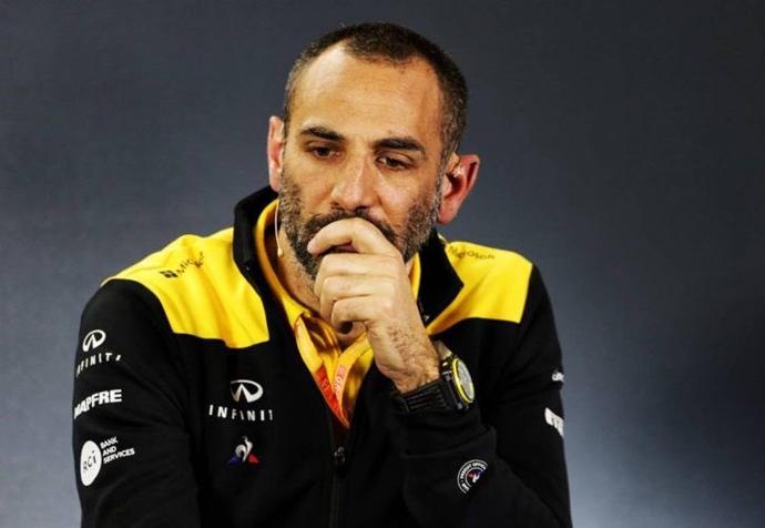 Abiteboul, molesto con los fichajes de Ferrari y McLaren
