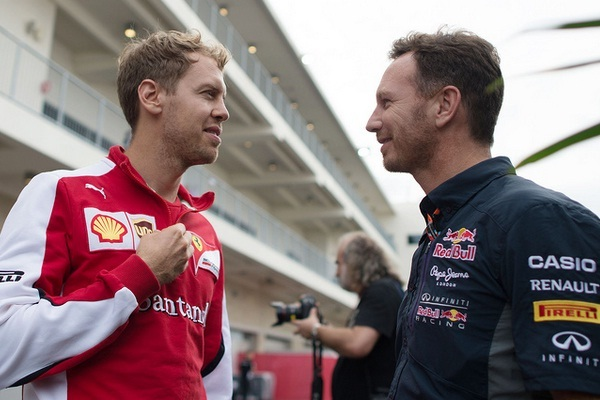 Horner descarta a Vettel para Red Bull