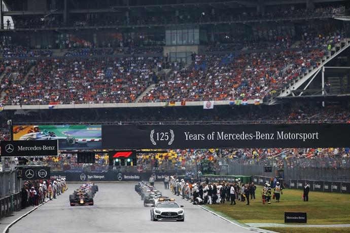 La F1 considera la celebración de carreras que estaban fuera del calendario 2020
