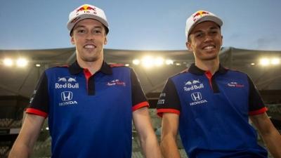 La promoción de Albon a Red Bull no sentó bien a Kvyat